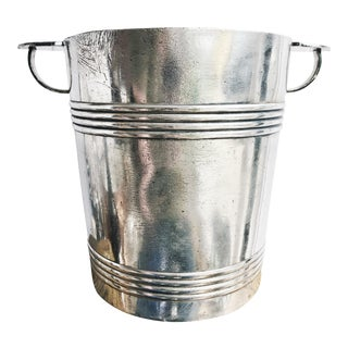 Antique Christofle Silver Champagne Bucket From Hotel George V Paris For Sale
