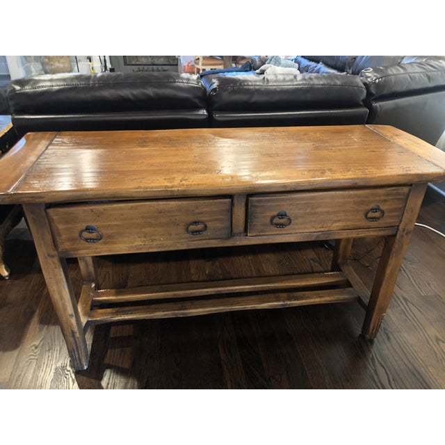 Sofa Table - Solid Wood For Sale - Image 10 of 12