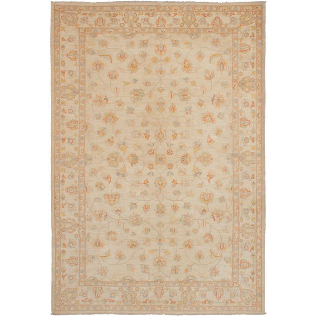 """Classic Hand-Knotted Rug, 6'4"""" X 9'2"""" For Sale - Image 6 of 6"""