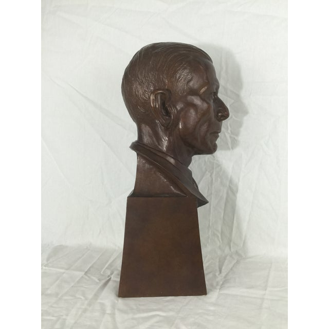 """Early 20th Century Carl Mose Bronze """"Young King Henry"""" Bust For Sale - Image 5 of 11"""