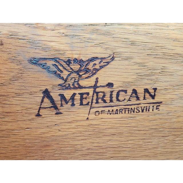 1970s 1970s Vintage American of Martinsville Teal Dresser For Sale - Image 5 of 6