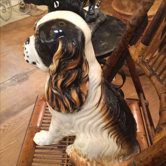 King Cavalier Spaniel Statue For Sale In Los Angeles - Image 6 of 7