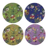 Image of Flora Fauna Coasters, Set of 4 For Sale