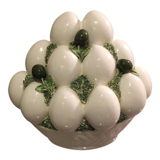 Italian Goose Eggs & Olives Topiary