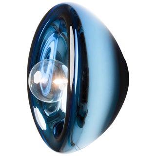 Aurum Blue Glass Sconces, Alex de Witte For Sale