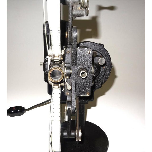 Early 20th Century Rare First Model 16MM Cinema Movie Projector Circa 1923. Display As Sculpture. For Sale - Image 5 of 10