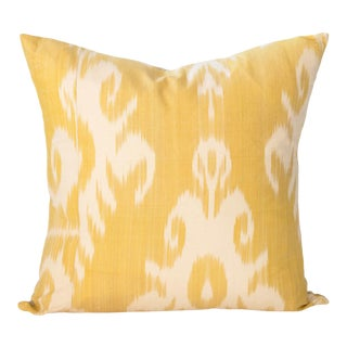 "Soleil Ikat Pillow - 20x20"" For Sale"