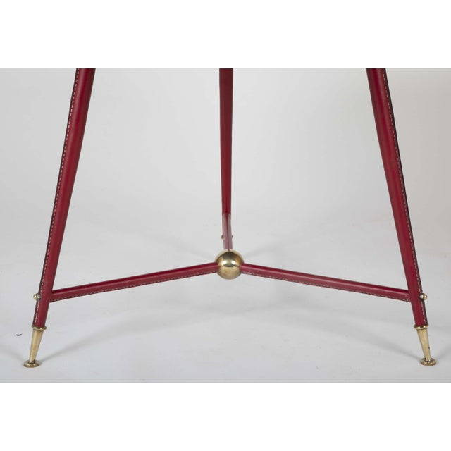 Mid 20th Century Pair Of Jules Leleu Side Tables For Sale - Image 5 of 13