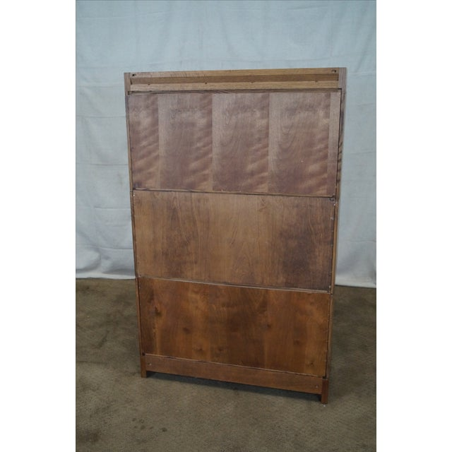 Stickley Mission Oak Stacking Barristers Bookcase - Image 4 of 10