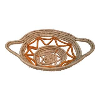 Ameri-Indian Hand Woven Basket