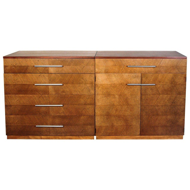 Gilbert Rohde Herman Miller Art Deco 1933 World's Fair Dressers Matched Pair For Sale - Image 11 of 11