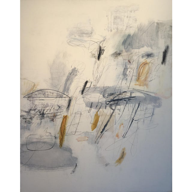 "Robert Kingston Abstract Painting ""Recuerdo"" For Sale - Image 11 of 11"