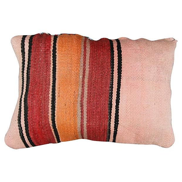 Moroccan Boucherouite Sham Striped II - Image 3 of 3