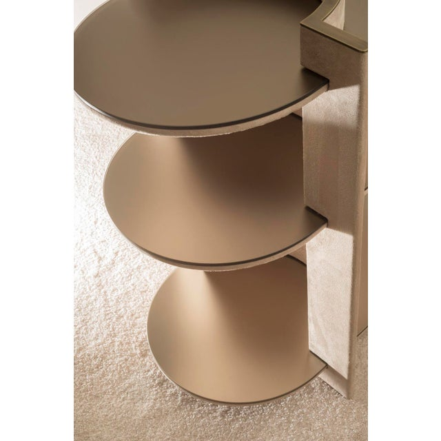 Contemporary Torus Console Shelving, by Robert Sukrachand Made in Usa For Sale - Image 4 of 5