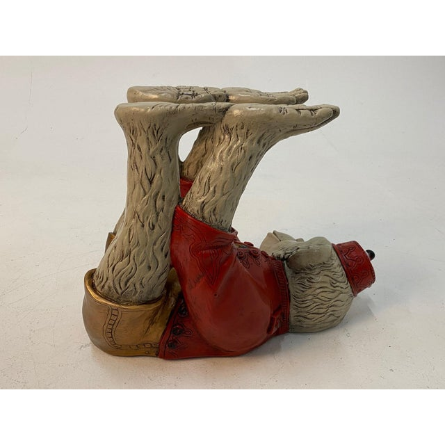 Monkey Motife End Tables Coffee Table -A Pair For Sale In Philadelphia - Image 6 of 13