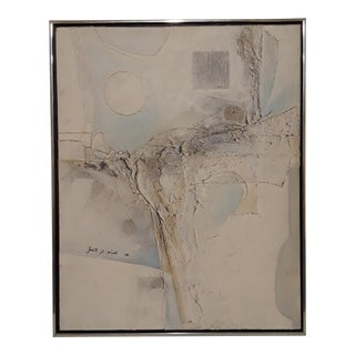 Abstract Art Textile Painting