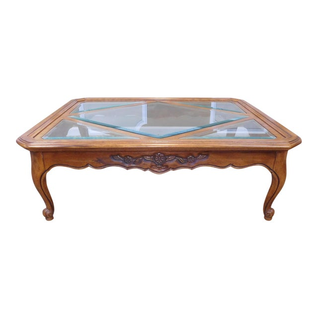 Drexel Heritage Cabernet Collection Coffee Table For Sale