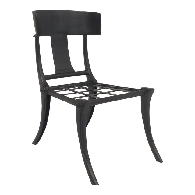 Klismos Outdoor Chair For Sale