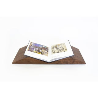 Mountains Bookscape in Walnut Preview