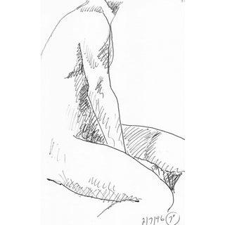 1996 Male Nude Torso by James Bone For Sale