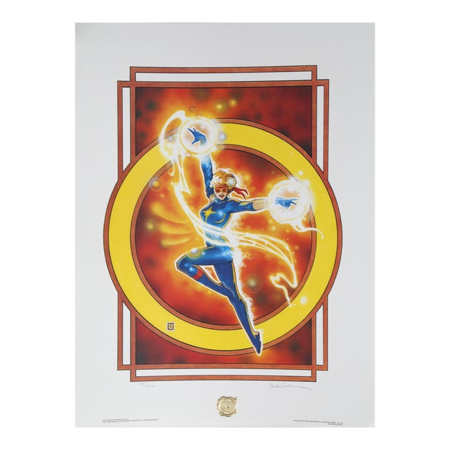 """""""The Dazzler"""", 1987, Offset Lithograph by Frank Cirocco For Sale"""