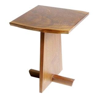 George Nakashima Burl Walnut Minguren Table For Sale