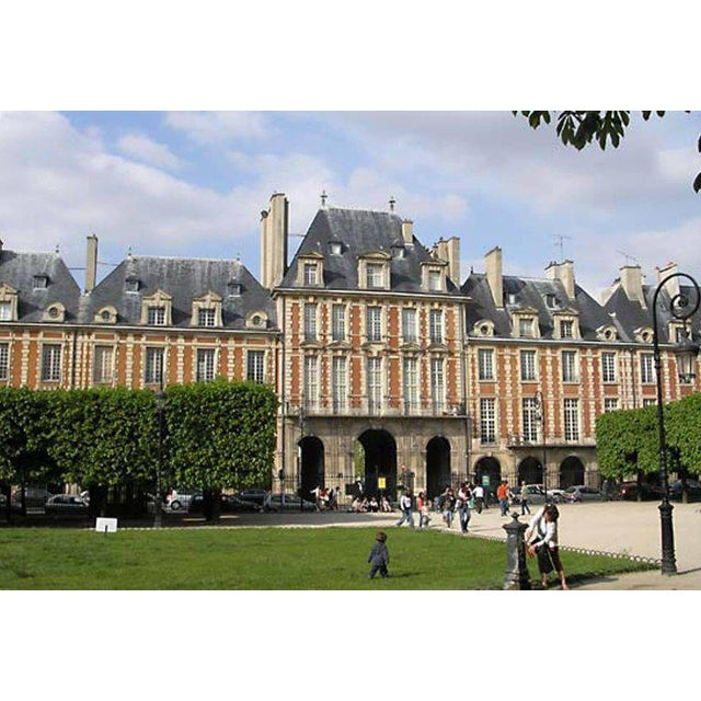 Original Architecture Sketches Drawing Study for Place Des Vosges in Paris For Sale - Image 9 of 10