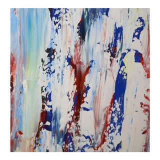 Colorful Abstract Painting by John Szabo For Sale