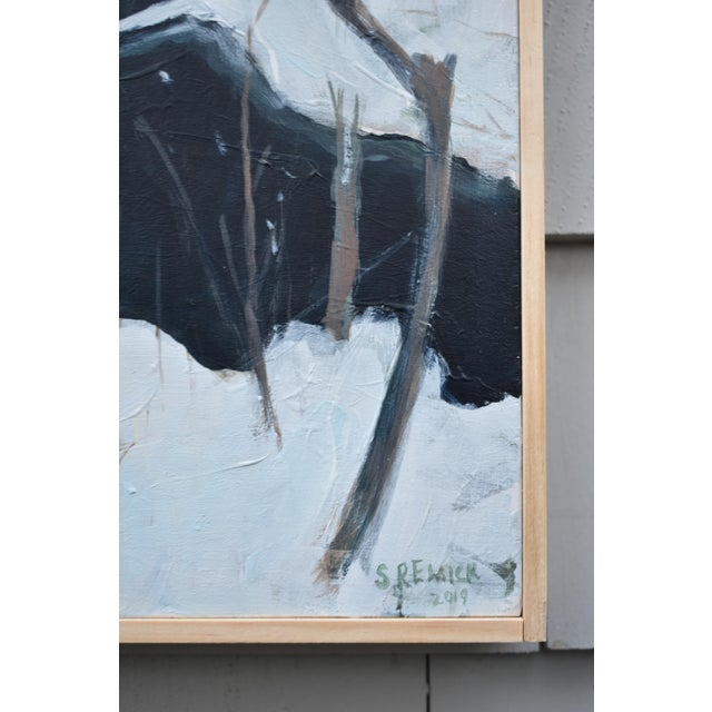 "2010s Stephen Remick ""Bend at Destruction Brook"" Contemporary Painting For Sale - Image 5 of 9"