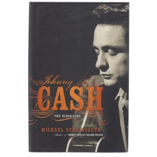 """2006 """"Signed Edition, Johnny Cash: The Biography"""" Collectible Book For Sale"""