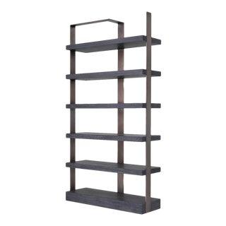 Bronze Oak Display Cabinet | Eichholtz Geo For Sale