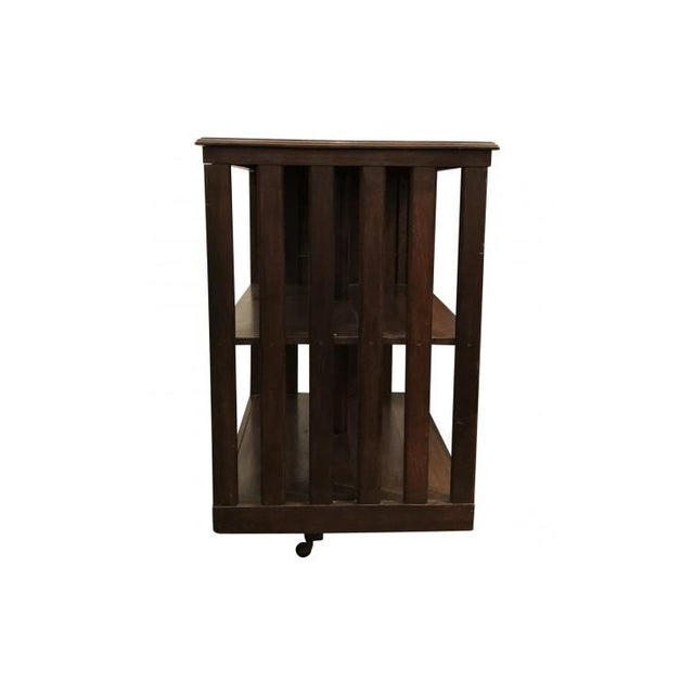 Early 20th Century 20th Century Traditional Swivel Bookcase For Sale - Image 5 of 8