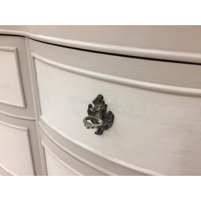 Vintage Hand Painted French Style Dresser - Image 9 of 11