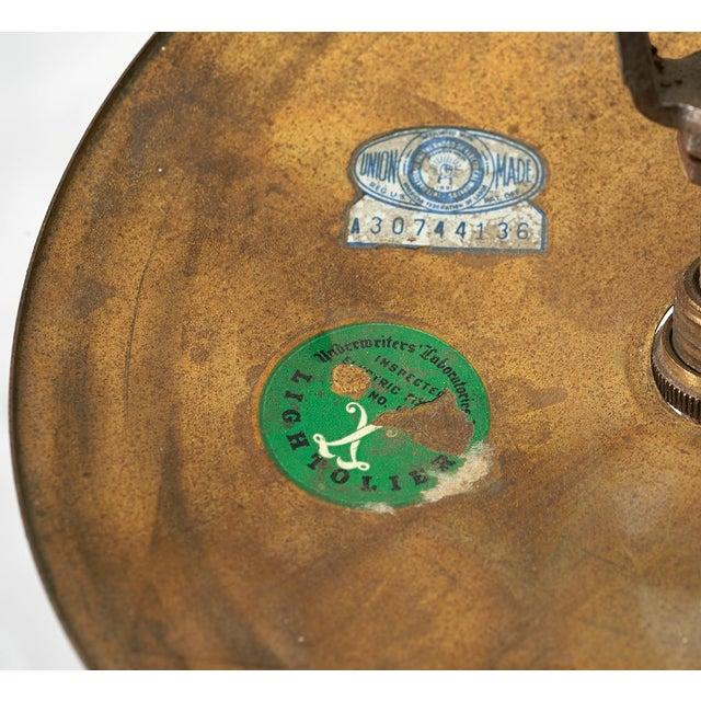 Gold Gino Sarfatti 24 Light Brass 'Sputnik' Chandelier model 4081, ca. 1950 For Sale - Image 8 of 9