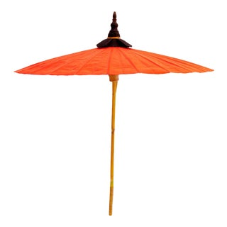 Mid-Century Indian Parasol For Sale
