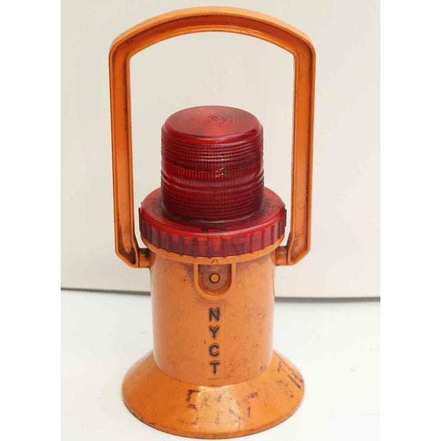 Industrial NYC Subway Light by Dorman For Sale - Image 3 of 10