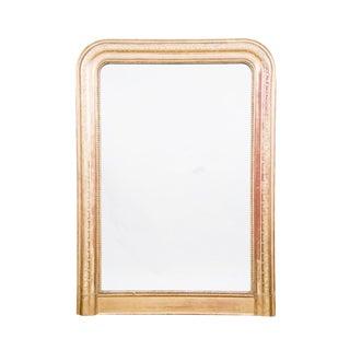 Gold Gilt Greek Key Mirror