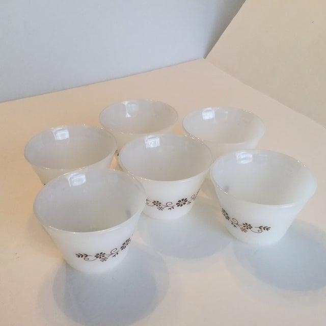 Milk Glass Custard Cups - Set of 6 - Image 8 of 10