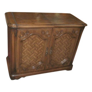Late 20th Century Vintage Flip Top Buffet For Sale