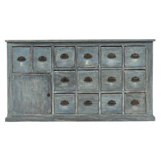 French Antique Haberdashery Cabinet