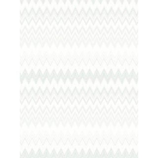 Scalamandre Zig Zags, Silver Wallpaper For Sale