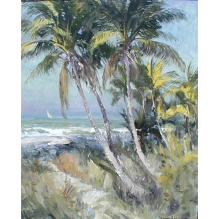 On the Gulf Naples Florida Painting For Sale