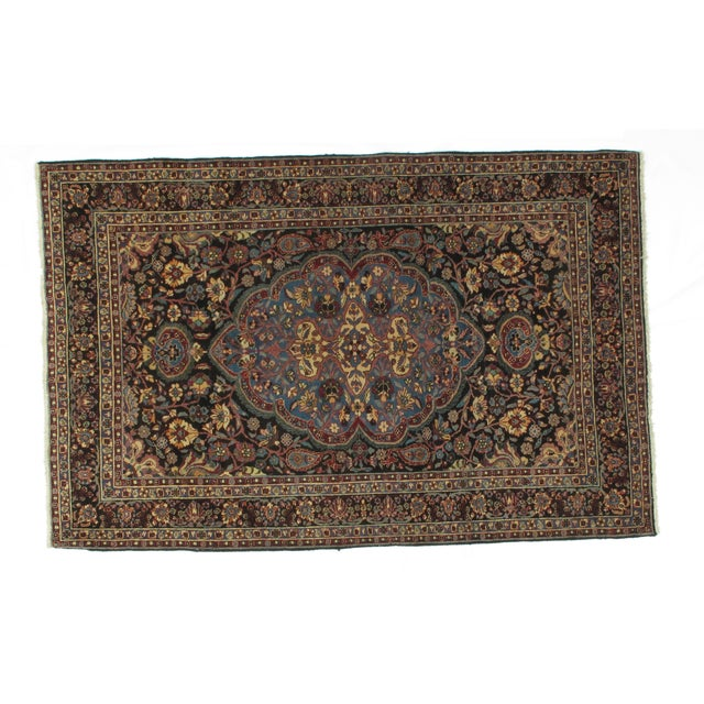 Leon Banilivi Antique Dorokhsh Rug - 4′8″ × 7′3″ For Sale