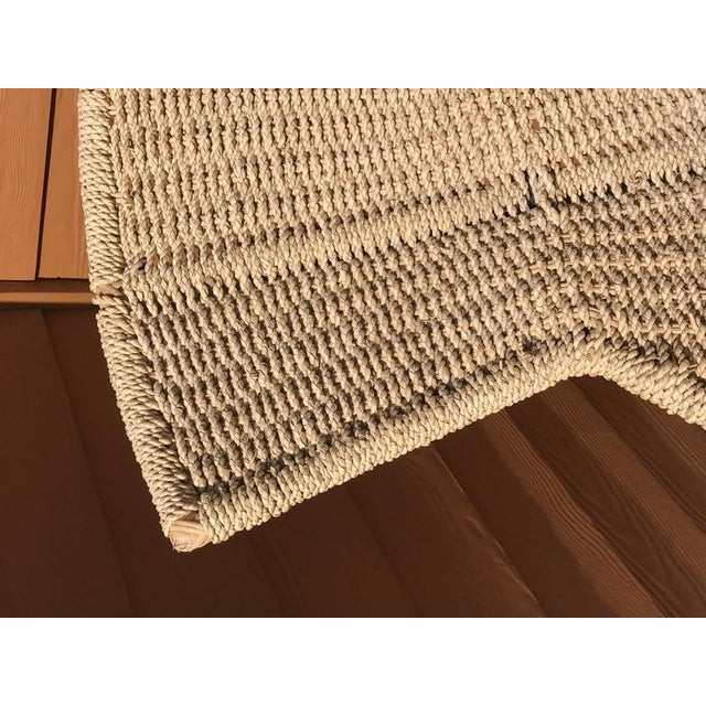 Sculptural Woven Rope Chaise Longue For Sale - Image 4 of 7