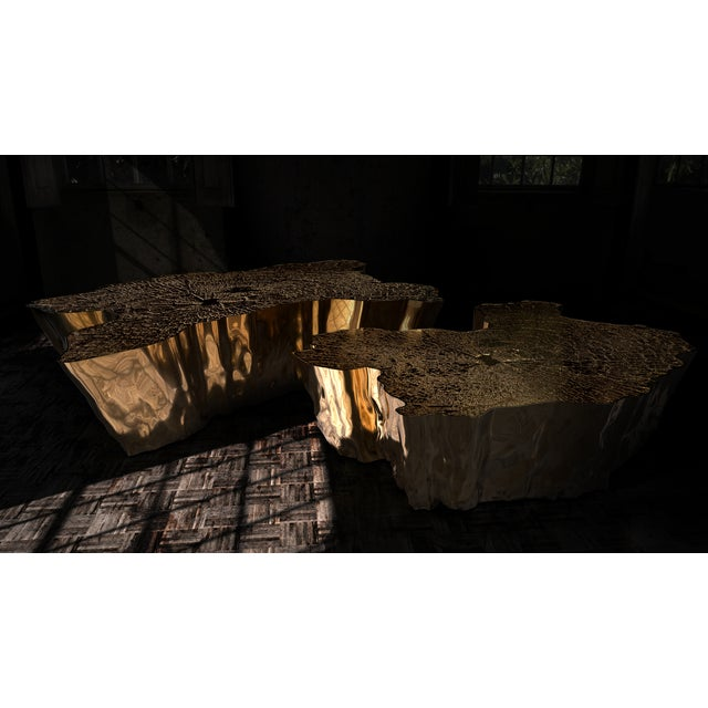 Eden Patina Center Table From Covet Paris For Sale - Image 6 of 7