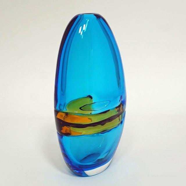 Barbini Alfredo Barbini Large Vase 'Doppio Incalmo', Venice Ca. 1965 For Sale - Image 4 of 9