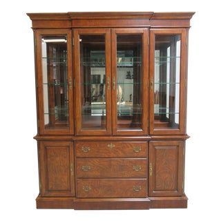 Thomasville Vignettes Chippendale China Cabinet For Sale
