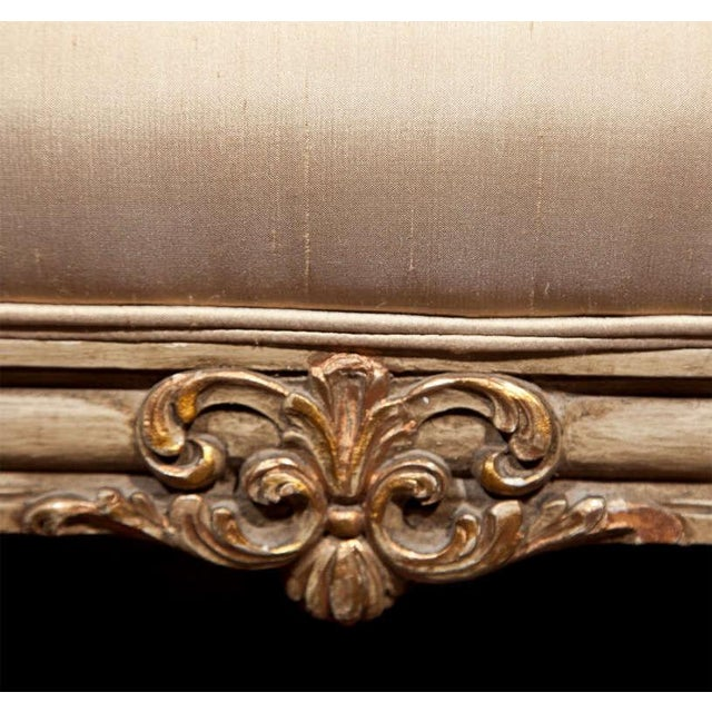French Louis XVI Style Bergère Chairs - A Pair For Sale In New York - Image 6 of 11