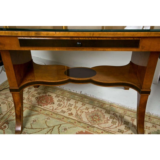 Satinwood Art Nouveau Satinwood Sofa Table For Sale - Image 7 of 10