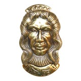 Image of Vintage King Charles II Door Knocker For Sale